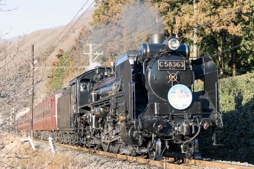 C58-363波久礼駅進入