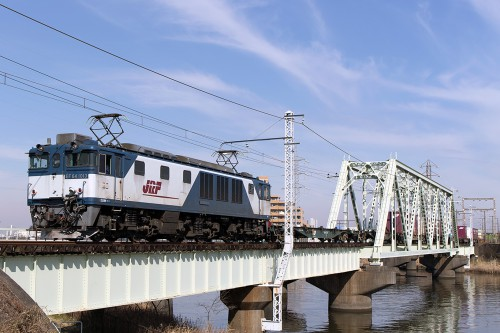 EF64-1013中川橋梁