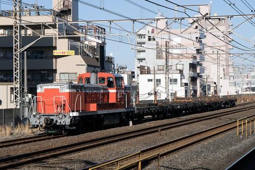 DE10-1704 2014.2.14 14:38撮影 越中島行工臨 平井駅