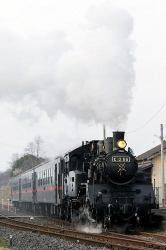 C12-66 折本駅発車