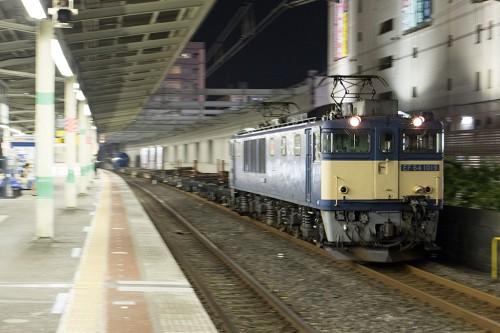 2015.5.26 22:30撮影 5971レ 市川駅