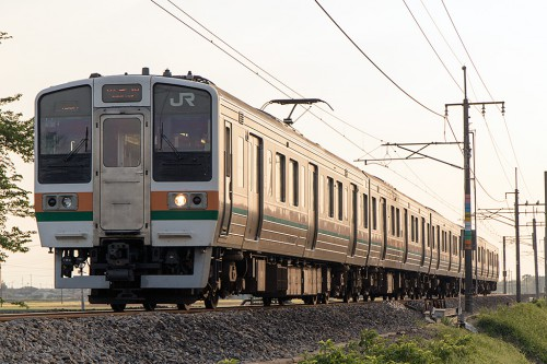 2015.4.29 17:13撮影 463M 足利~富田間