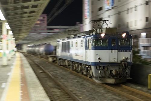 2015.9.11 22:33撮影 5971レ 市川駅