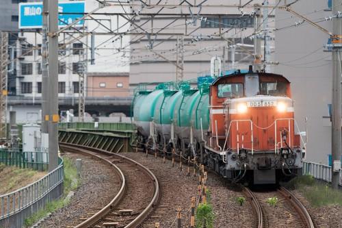 DD51-852 2015.8.21 6:15撮影 5271レ ささしまライブ駅