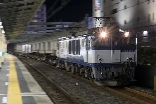 2015.10.13 22:30撮影 5971レ 市川駅