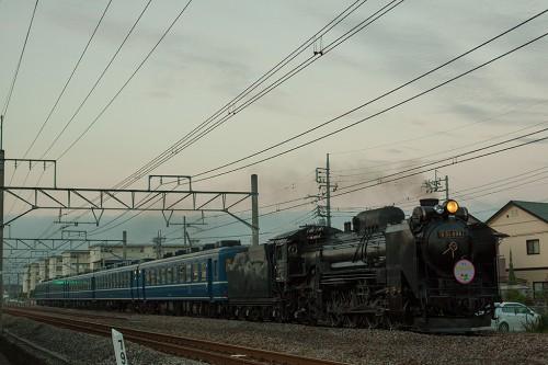 2015.10.17 17:07撮影 8736レ 新前橋~井野間