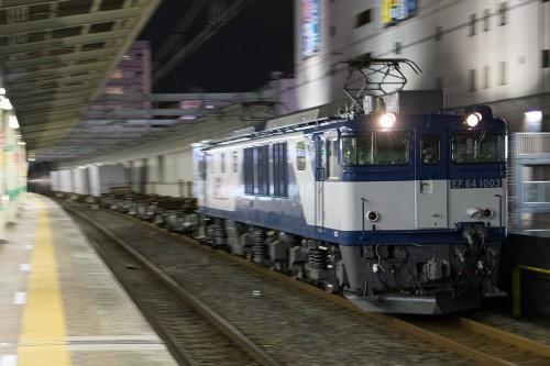 2015.12.16 22:31撮影 5971レ 市川駅
