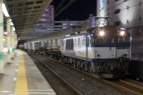 2015.12.17 22:30撮影 5971レ 市川駅