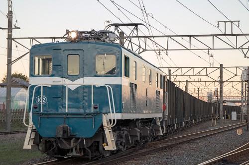 2015.11.27 16:15撮影7405レ 武川駅