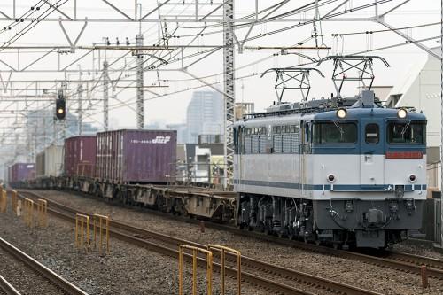 EF65-2138 小岩駅