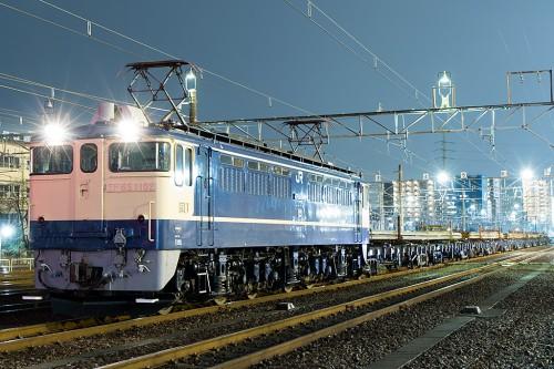 EF65-1102 東高島工臨