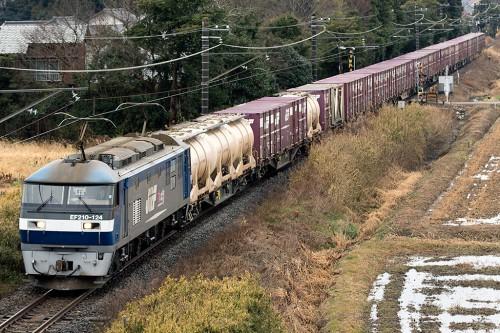 EF210-124 1093レ 佐原~香取間