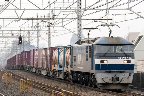 EF210-120  1093レ 小岩駅