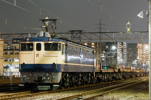 EF65-1103 宇都宮工臨