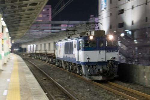 EF64-1025 市川駅
