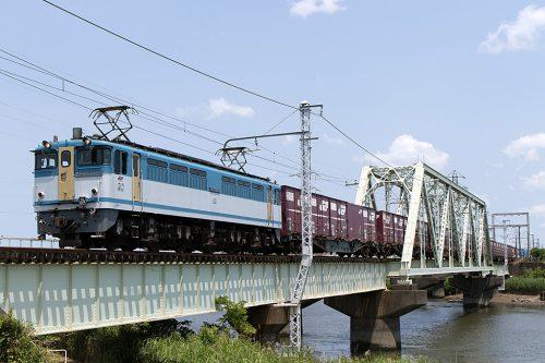 EF65-2127 中川橋梁