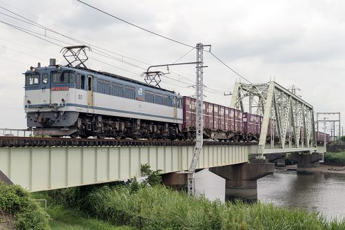 EF65-2088 中川橋梁