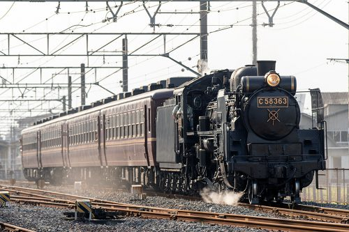 C58-363 5002レ 石原~上熊谷間