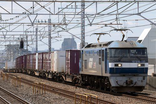 EF210-125 1093レ 小岩駅