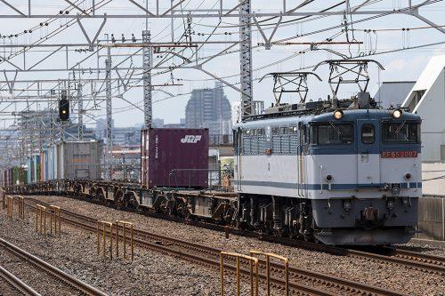 EF65-2097 1091レ 小岩駅