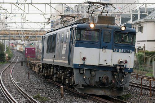 EF64-1046 1094レ 船橋~西船橋間