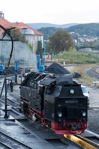 2016.9.3撮影 99 7241-5 Wernigerode機関区