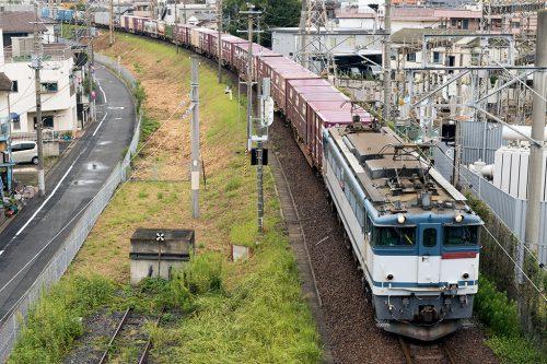 EF65-2066 金町~新小岩(信)