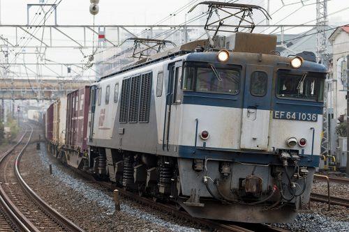 EF64-10361094レ 船橋~西船橋間