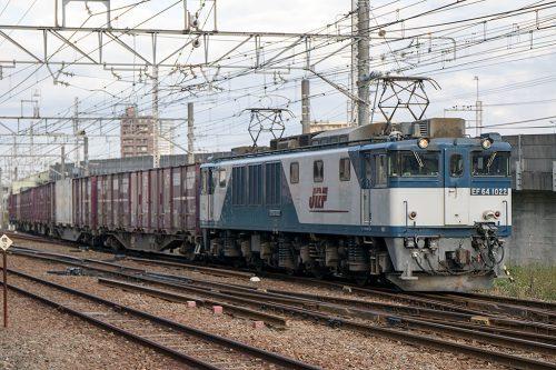 EF64-1022 1094レ 小岩~ 新小岩(信