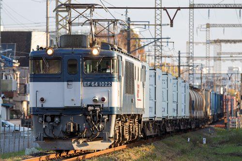 EF64-1022 東京街道踏切