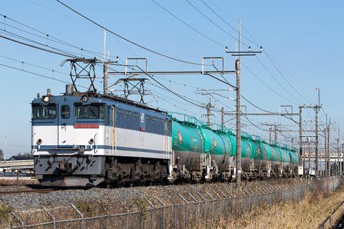 EF65-20808584レ 栗橋~東鷲宮間