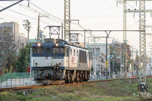 EF64-1037 単1094レ 新小岩(信)~金町間