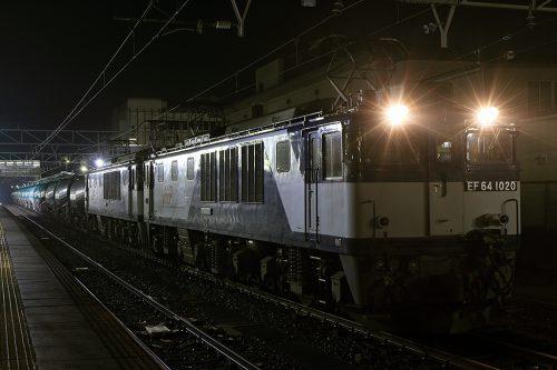 2016.12.9 23:10撮影 5880レ 中津川駅