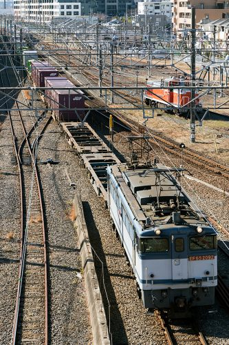 EF65-2092 環七陸橋