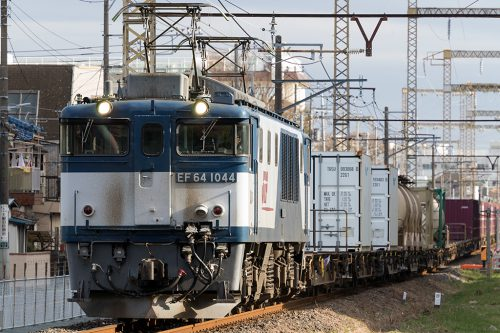 EF64-1044 新小岩(信)~金町間