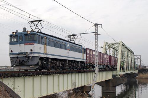EF65-2068 中川土手