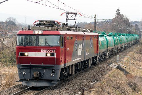 EH500-38 5090レ 金谷川~松川間