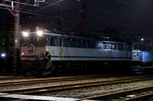 EF65-2067入換