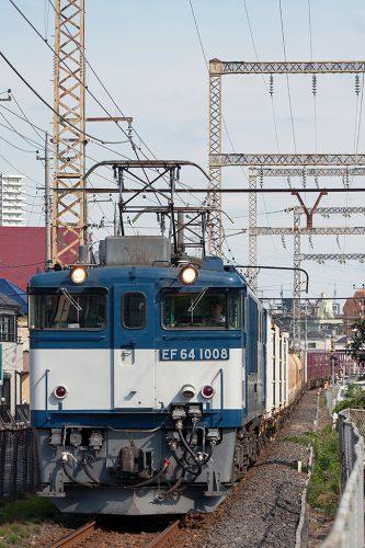 EF64-1008 1094レ 新小岩(信)~金町間