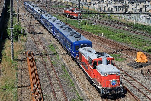 DE10-1604 総武本線開通120周年記年号