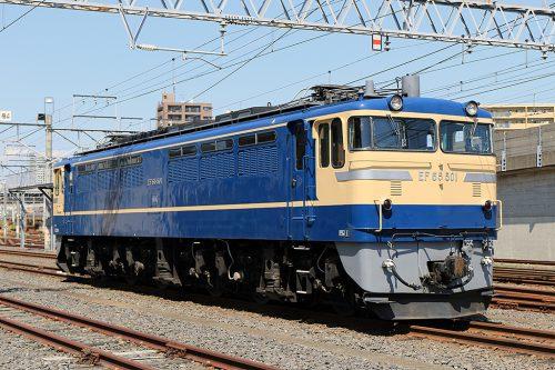 EF65-501 機留線