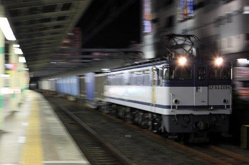 EF65-2094 5971レ 市川駅
