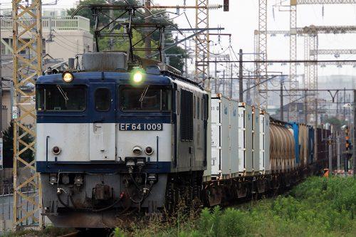 EF64-1009 新小岩(信)~金町間