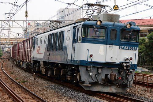 EF64-1042 1094レ 船橋~西船橋間