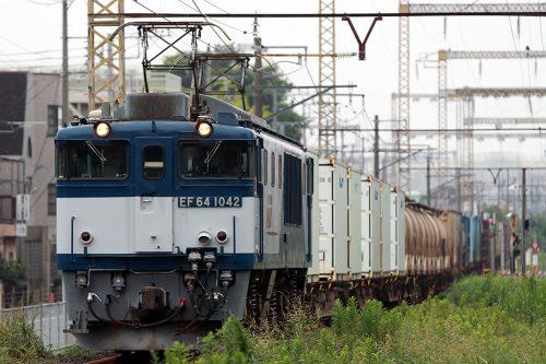 EF64-10421094レ 新小岩(信)~金町間