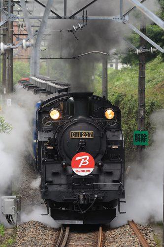 C11-207ビックカメラ  試7003レ 大桑~新高徳間