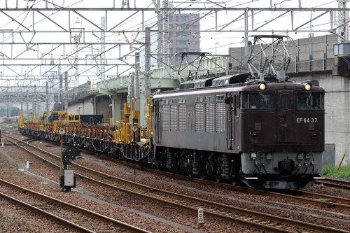 EF64-37工9872レ 金町~新小岩(信)間