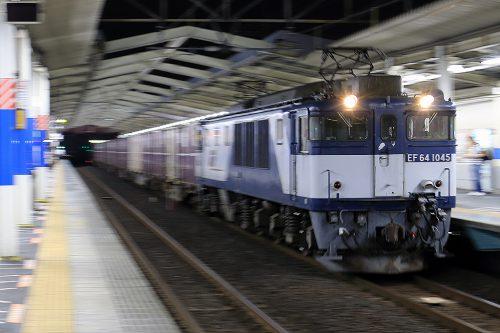 EF64-1045 79レ 南越谷駅