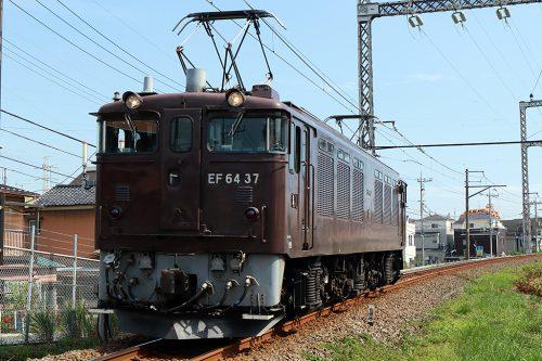EF64-37 単?レ 新小岩(信)~金町間