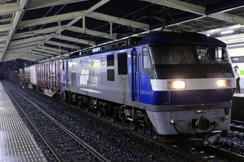 EF210-162 4096レ 南流山駅